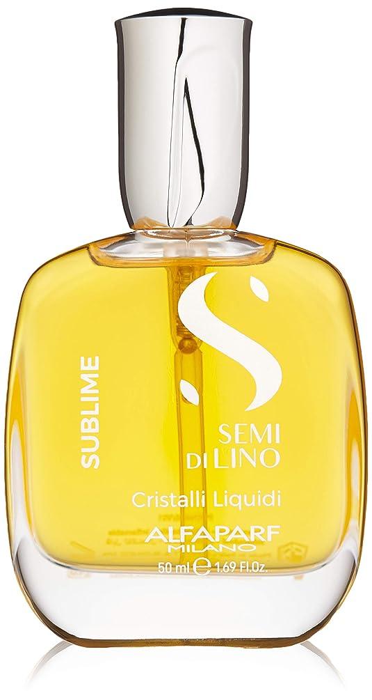 寄生虫ヒューマニスティック部アルファパルフ Semi Di Lino Sublime Cristalli Liquidi (All Hair Types) 50ml/1.69oz並行輸入品