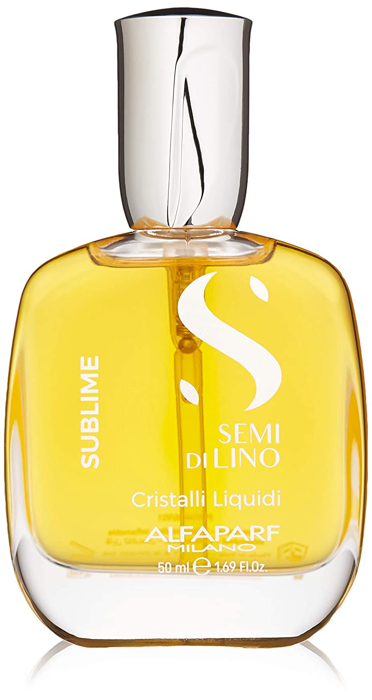 薬を飲む記者贅沢アルファパルフ Semi Di Lino Sublime Cristalli Liquidi (All Hair Types) 50ml/1.69oz並行輸入品