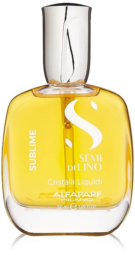 プラス磁器森アルファパルフ Semi Di Lino Sublime Cristalli Liquidi (All Hair Types) 50ml/1.69oz並行輸入品