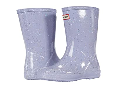 Hunter Kids Original First Classic Giant Glitter Wellington Boots (Toddler/Little Kid) (Pulpit Purple) Girls Shoes