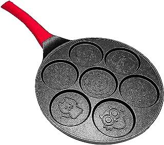 tellaLuna Nonstick Pancake Pan,Pancake Griddle,Crepe Pan, Induction Pancakes Crepe Maker