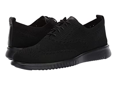 Cole Haan 2.Zerogrand Stitchlite Oxford (Black/Black) Men