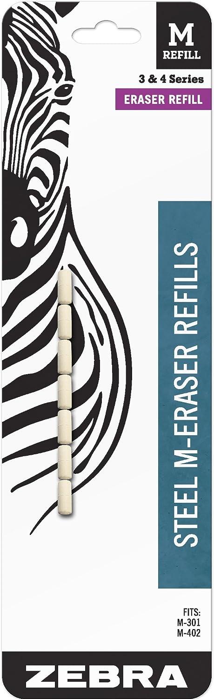 Zebra Steel M Classic Mechanical Technical Refills Eraser Pencil 7-Count Super-cheap