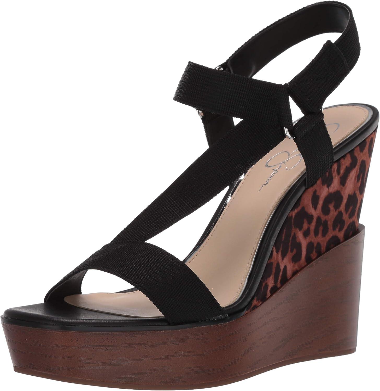 Jessica Boston Mall Simpson Women's Sandal Kansas City Mall Wedge Amillia