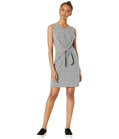 LAmade Elan Tie Front Dress (Heather Grey) Women