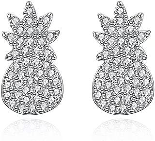 Best diamond pineapple earrings Reviews