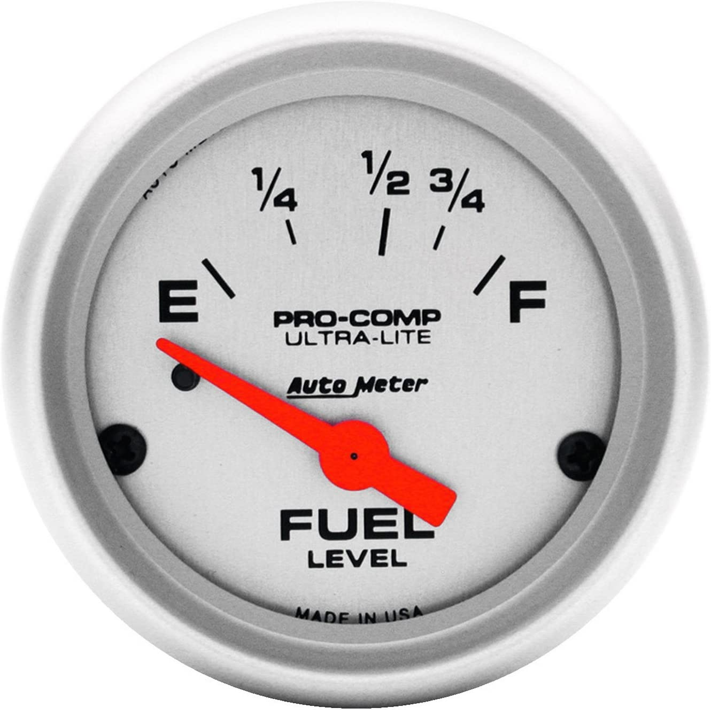 Auto Meter 4315 Ultra-Lite Gauge Level Electric Bargain sale Daily bargain sale Fuel