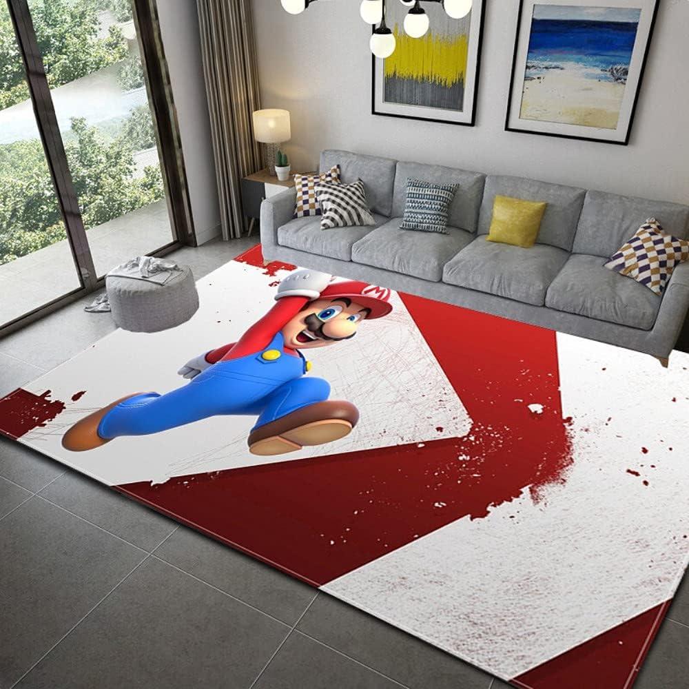Super Mario Bathroom Under blast sales Mat Carpet Bath Mats for Home Ma Decoration favorite