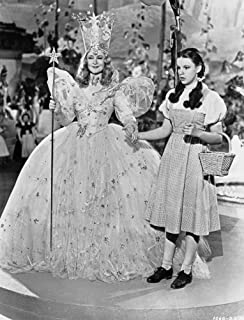 Posterazzi Wizard of Oz Two Ladies Holding Hands in Black and White Photo Print (8 x 10)