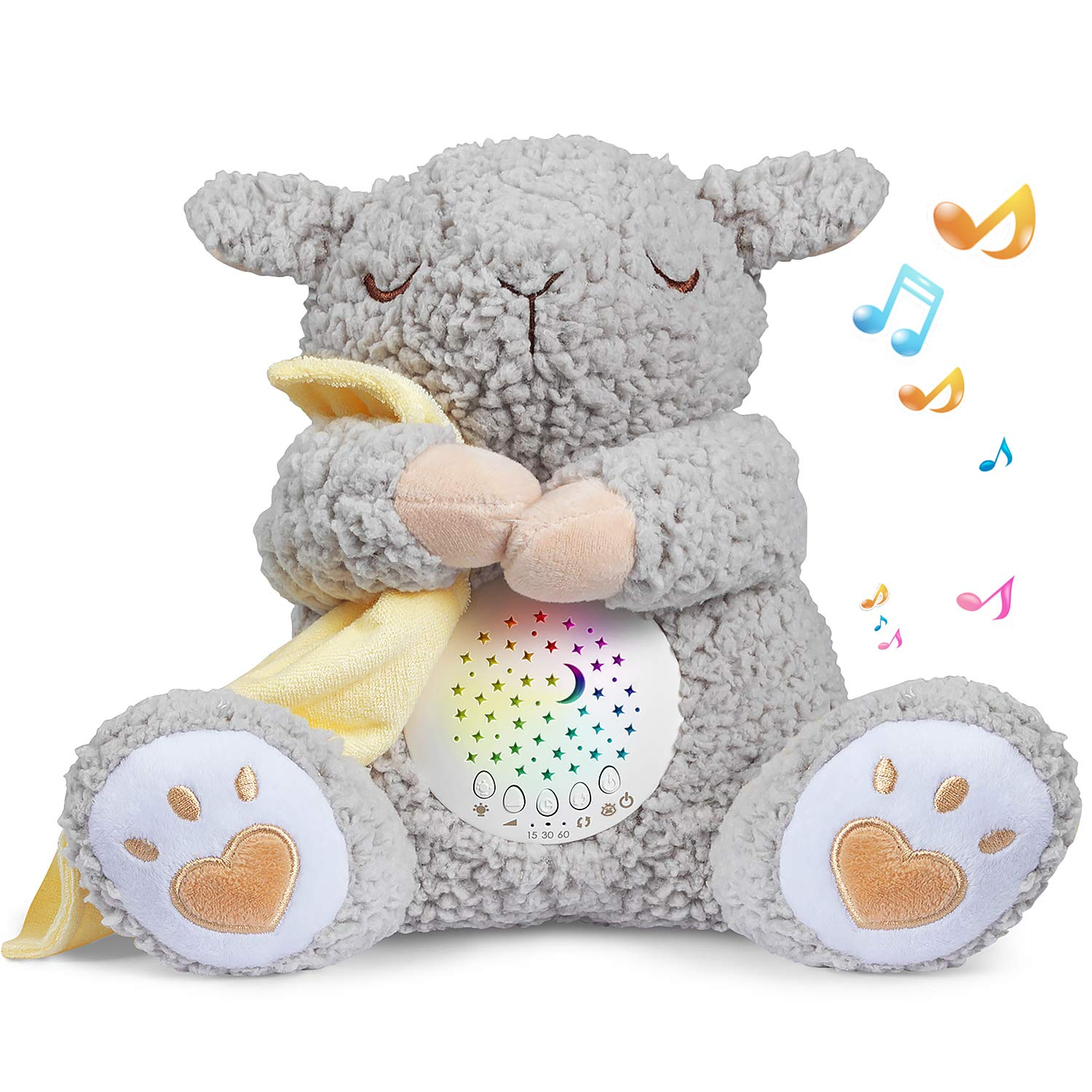BEREST Rechargeable Regular store Dreamy Sheep Baby Sensor Dealing full price reduction Cry Heartbea Mom's