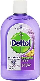 DETTOL Liquid Cleaner - Disinfectant, Lavender & Orange Oil - 500 ML (Pack of 3)