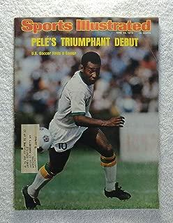 Pele - New York Cosmos - Pele's Triumphant U.S. Soccer Debut - Sports Illustrated - June 23, 1975 - SI