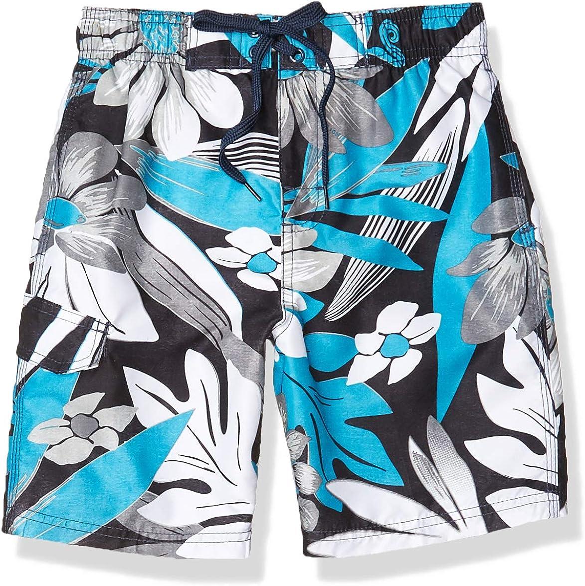 Kanu Surf Boys' Reflection Quick Dry UPF 50+ Beach Swim Trunk