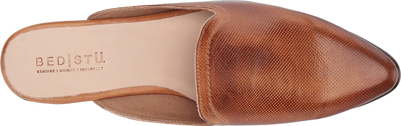 Bed|Stu Women's Brenda Leather Slide-on Mule
