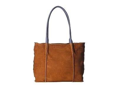 Hammitt Oliver Zip (Marin/Brushed Silver) Handbags