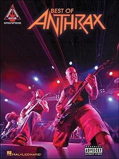 Hal Leonard Best Of Anthrax Guitar Tab Songbook