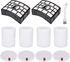 2 HEPA + 4 Foam & Felt Filters for Shark Rotator Powered Lift-Away XL Capacity NV755, UV795 Vacuum Cleaner, Compare to Part # XFF750 & XHF750 Replacement Filter Set