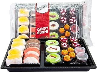 Raindrops Candy Gummy Sushi Bento Box (5 Pack(21 Piece))