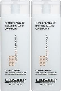 Giovanni 50/50 Balanced Hydrating, Calming Conditioner - 8.5 oz - 2 pk