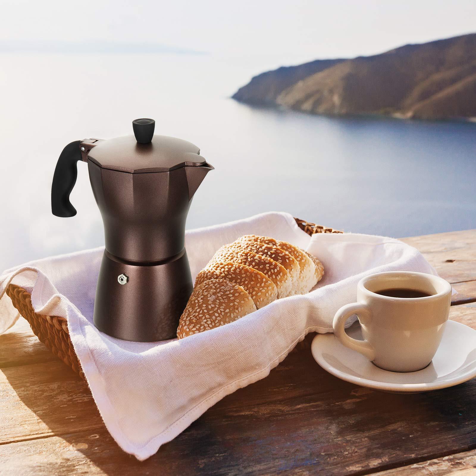 ROSSETTO cafetera Italiana Express en Aluminio 6 Tazas: Amazon.es: Hogar