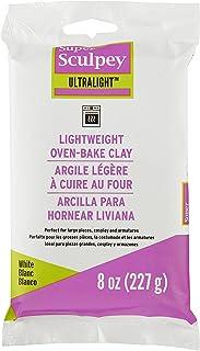 Polyform LW2001 SCULPEY Ultralight White- 8OZ 227GM Polymer Clay Accessory