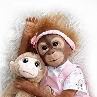 Best silicone monkey doll Reviews