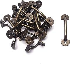 5//10//20Pcs Mini Antique Bronze Handles Pull Jewelry Box Drawer Ring Knobs 2 Size