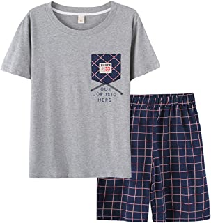 BYX SweetLeisure Big Boys Fashion Summer Shorts Pajama Sets 12-20 Years