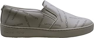 Michael Michael Kors Keaton Slip On Round Toe Leather Loafer, White, Size 9.5