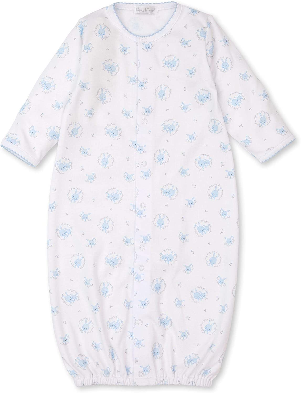 Kissy Kissy Baby-Boys Infant Bunny Hugs Print Convertible Gown