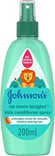 JOHNSON'S Toddler & Kids Conditioner Spray - No More Tangles, Formula Free of Parabens & Dyes, 200ml