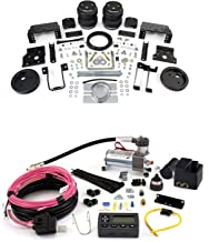 Airlift 88396 72000 Set of Load Lifter 5000 Ultimate Series with Wireless Air Compressor System Kit for Ford F-250 F-350 F-450 Super Duty