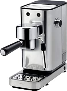 WMF Espresso Maker Lumero - Cafetera expresso manual, presión 15 bares, espresso, capuccino, regulable, capacidad 1.5 litr...