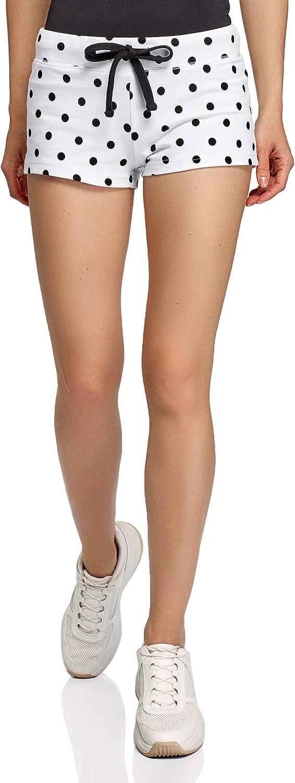 oodji Ultra Women's Drawstring Cotton Shorts