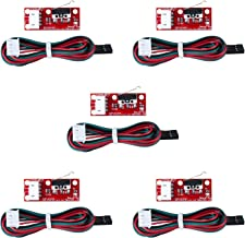 PChero 5 piezas mecánicas tope con indicadores LED y cables para MakerBot Prusa Mendel RepRap Mega 2560 1280 CNC Arduino rampas 1.4