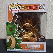 Figura Pop! Dragonball Z Shenron Dragon Gold Exclusive 15cm