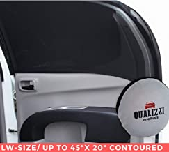 L-Wide/Car Sun Shades That Fit Most SUV's Contoured Windows Up to 45 x 23 in. at Maximum Stretch