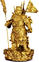 Statue Decoration Pure Copper Guan Gong Jewelry God Wealth God Statue Living Room Feng Shui Jewelry Crafts Wealth Buddha S...