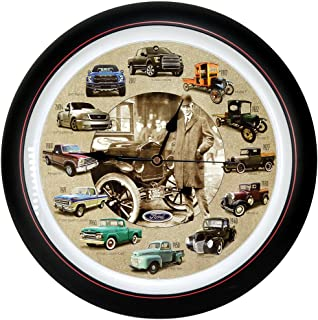 Mark Feldstein Ford Truck 100th Anniversary 13 inch Sound Clock Grill Center