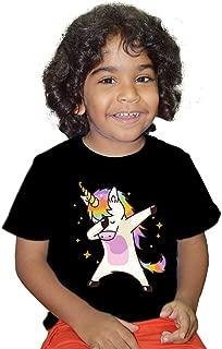FMstyles - Dabbing Unicorn Shirt Dab Hip Hop Kids Unisex Tshirt