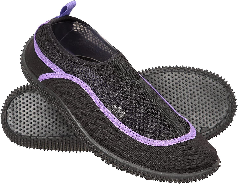 Mountain Warehouse Bermuda Womens Aqua Shoes -Easy Slip On Swim Shoes