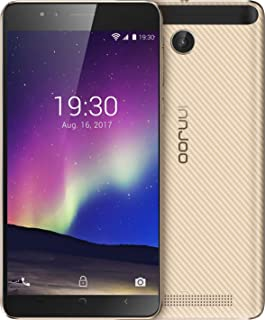 InnJoo Halo 4 - Dual SIM - 5.5 Inch, 16 GB, 1 GB RAM, 3G, Gold
