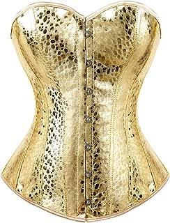 white leather underbust corset