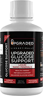 Upgraded Vegan Keto Blood Sugar Glucose Support | Liquid Nano Minerals Superior Absorption Supplement | Natural Gluten Free Mood Insulin Metabolism Weight Loss Support Sugar Free | 16 oz