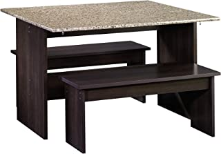 Sauder Beginnings Table With Benches, L: 47.17