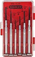 Stanley Hand Tools 66-039 6 Piece Jeweler's Screwdriver Set