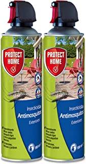 PROTECT HOME Antimosquitos Exteriores, Insecticida Persistente, Ideal para Mosquitos Tigre y Mosc...