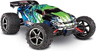 Traxxas E-Revo 4 x 4 verde RTR + cargador de 12 V + batería 1/16 4WD Racing Truck cepillado