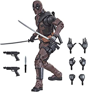 Hasbro Marvel Legends Series 6-inch Premium Deadpool Action Figure Toy From Deadpool 2 Movie and 11 Accessories For Ages 1...