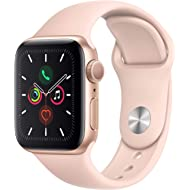Apple Watch Series 5 (GPS, 40mm) - Gold Aluminum Case with Pink Sport Band
